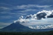 Sinabung Vulcan Activ Berastagi Sumatra