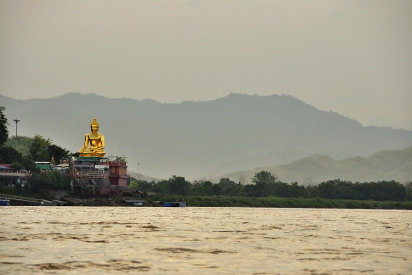 Thailand Golden Triangle Buddha Statue