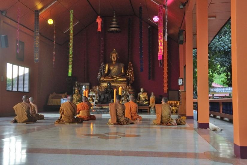 Thailand Wat Phra That Phukao Golden Triangle 2