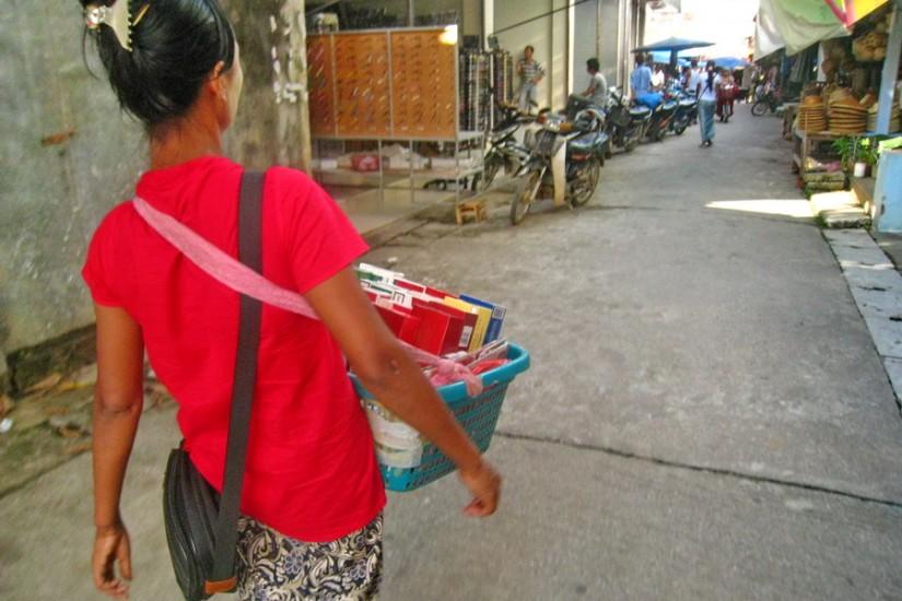 Thuchilek Bazaar Myanmar 2