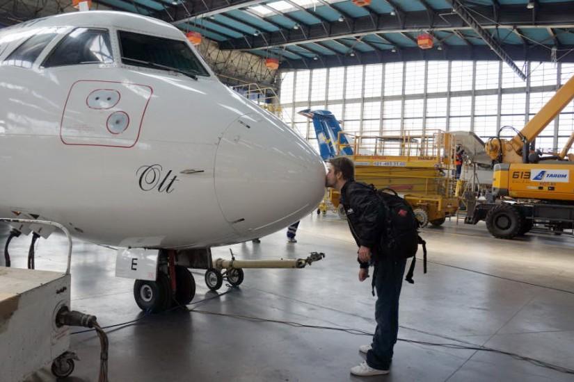 RTW Tarom Hangar ATR