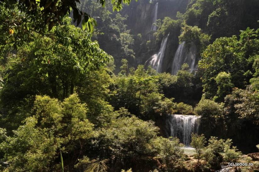 Thi Lo Su Waterfall Tak Thailand
