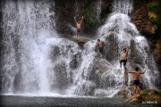 Ko Tha Karen Village Waterfall Umphang Tak Thailand