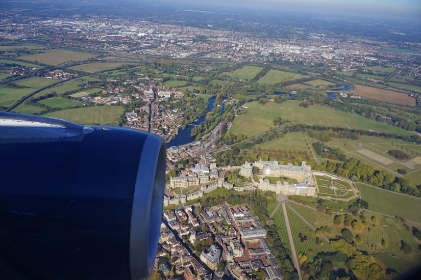TAROM aterizare Londra Heathrow