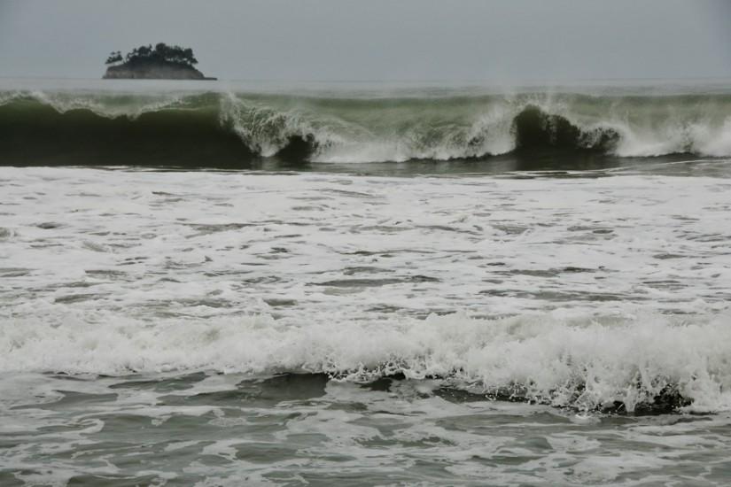 Sumatra Aceh coast wave island