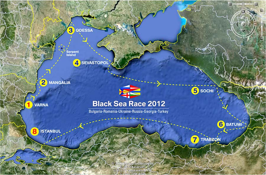 Black Sea Race Yachting
