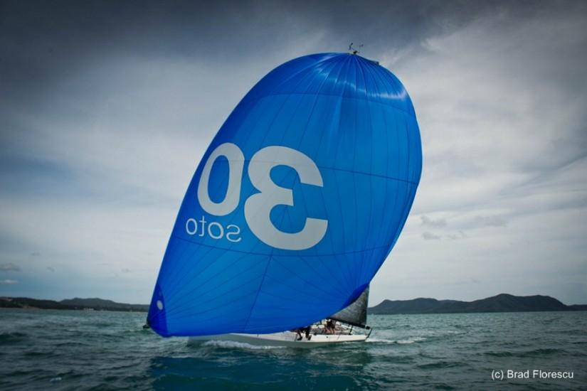yachting regatta Pattaya SOTO 30