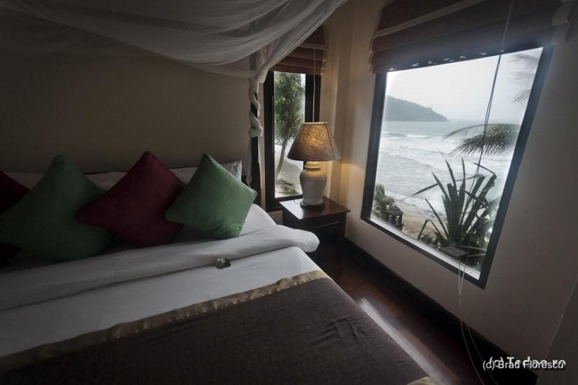 Ao Prao Resort. Vedere din pat.