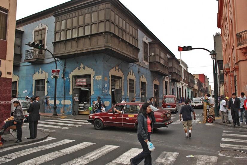 Lima, strada Callao