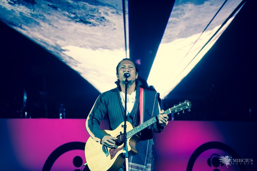 Tongam Sirait, Sala Palatului, concert Voltaj
