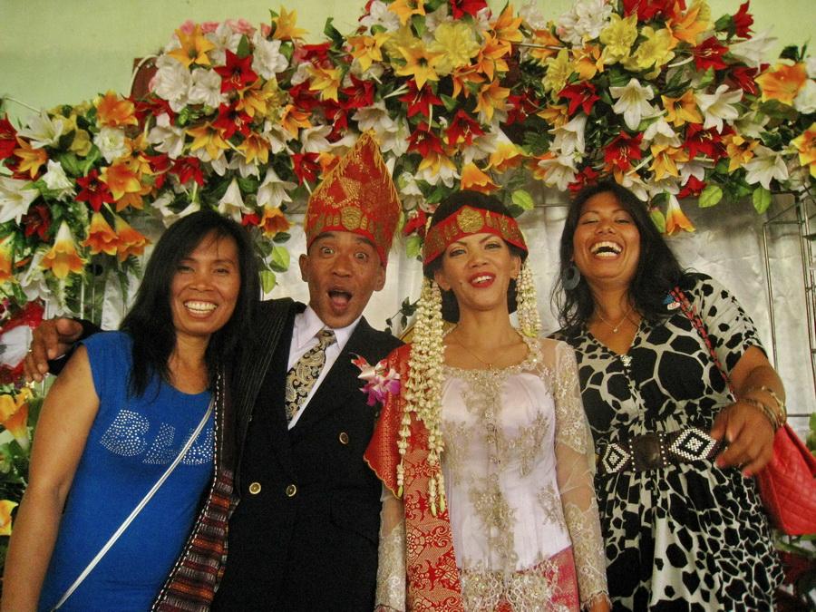 Nunta Batak Indonezia Sumatra