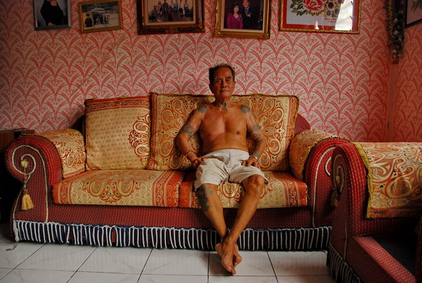 Borneo vanator de capete