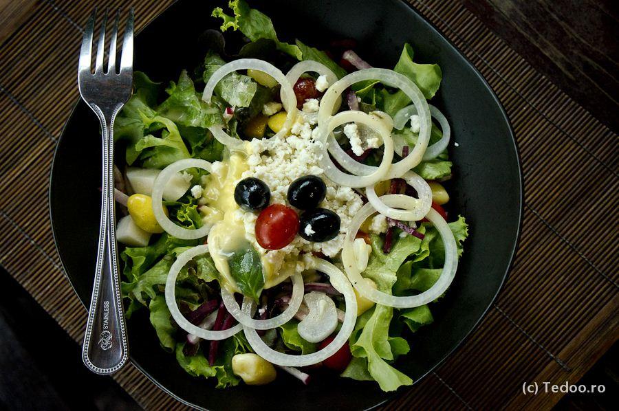 Salata greceasca a la The Spa