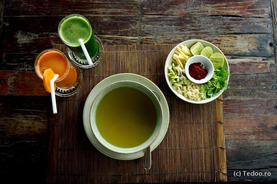 The Spa Koh Chang mancare vegetariana