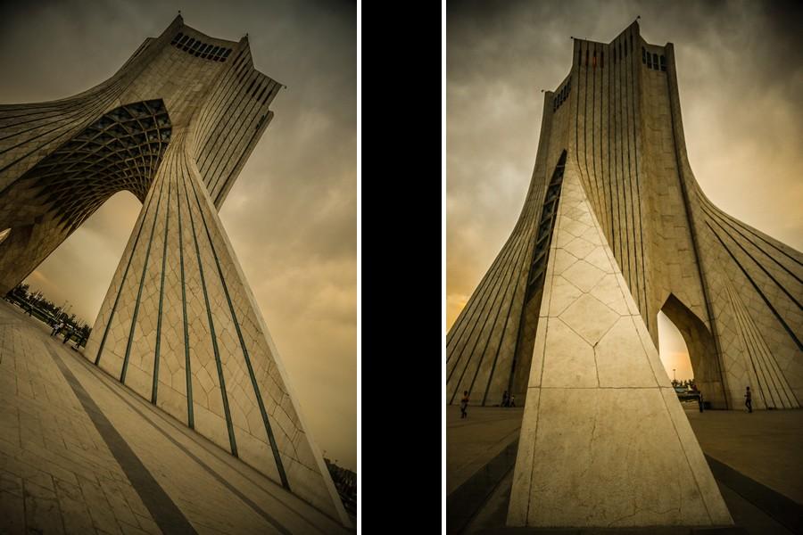 Azadi Tower Tehran.