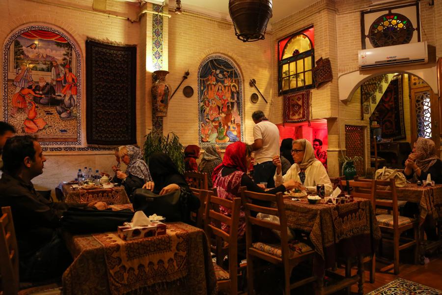Shiraz, Ceainăria Seray-e Mehr.