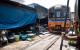 Piață Bangkok cale ferată