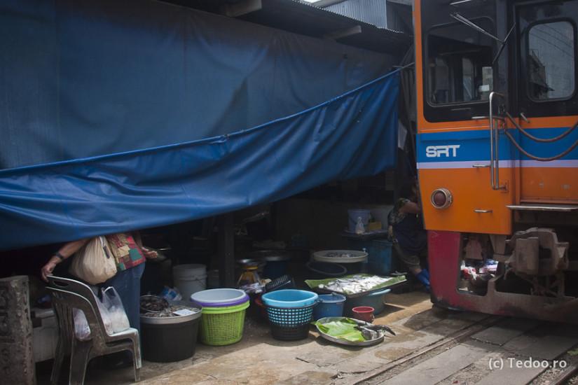 Mae Khlong Railway Market 1