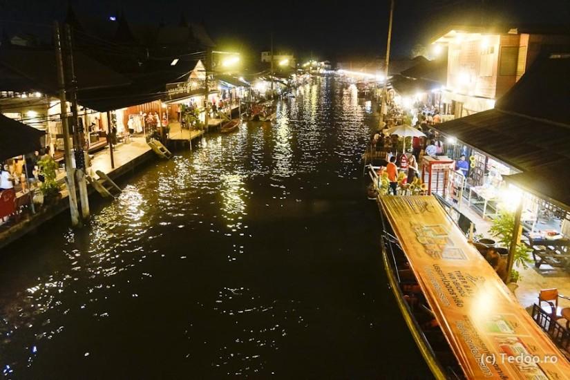 Amphawa, piața plutitoare