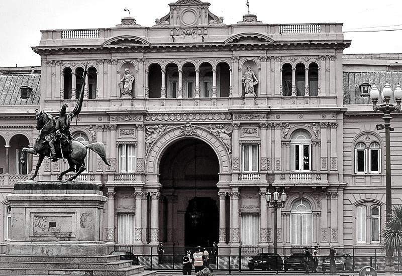 Casa Rosada, Buenos Aires.