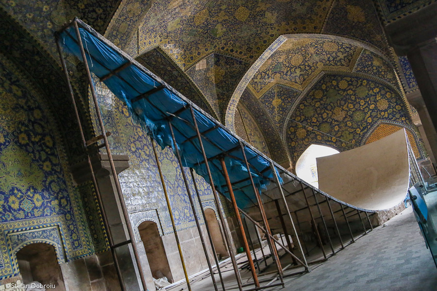 Esfahan Iran Moscheea Regala