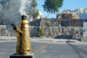 Israel o cafea la strada