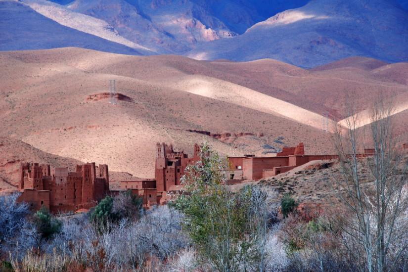 Maroc, Dades Gorges