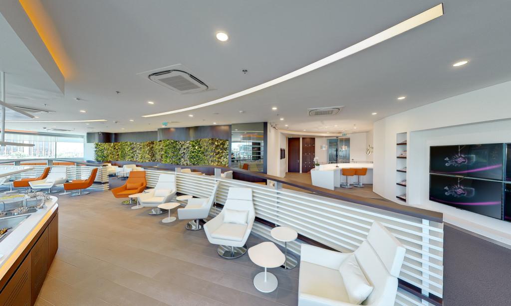 SkyTeam Exclusive Lounge @ Istanbul Ataturk.