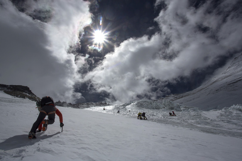 Expediție pe muntele Everest. Foto: AFP/Getty Images