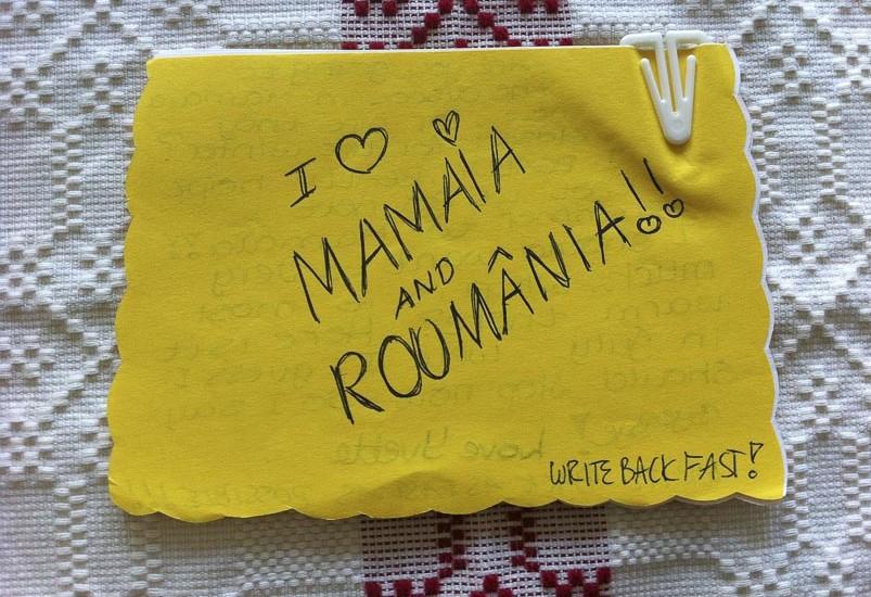 Early Letter I love Mamaia