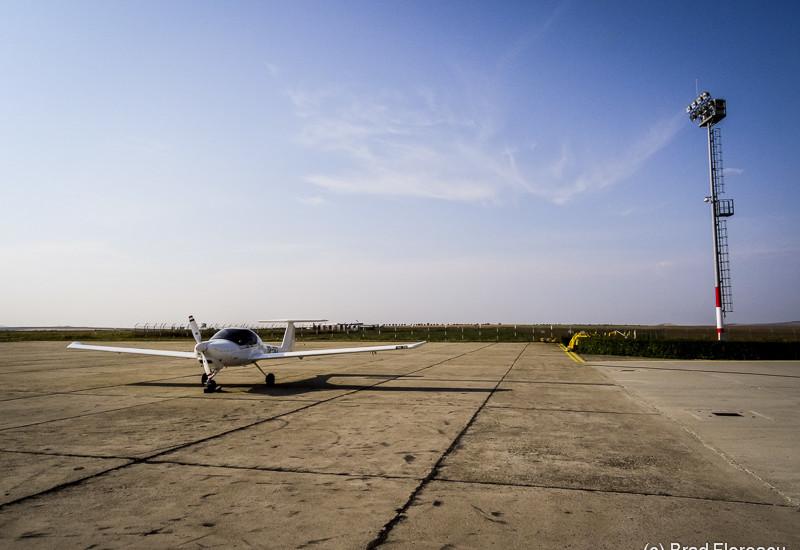 Katana noastră, singurul avion de la Tulcea.