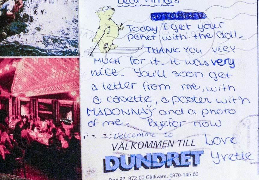 Carte postala martie 1986