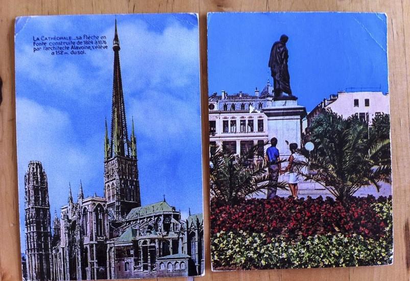 Mihai postcards Paris