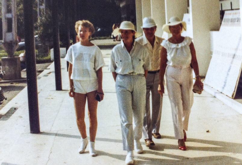 Yvette la Mamaia, 1985.