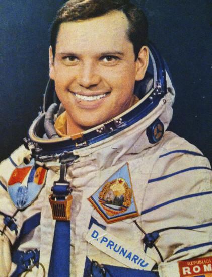 Dumitru Prunariu înainte de decolarea în misiunea Soyuz 40. 14 mai 1981.