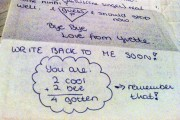 Letter Yvette 2