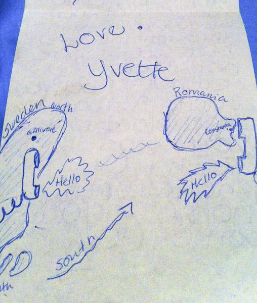 Letter Yvette Mamaia