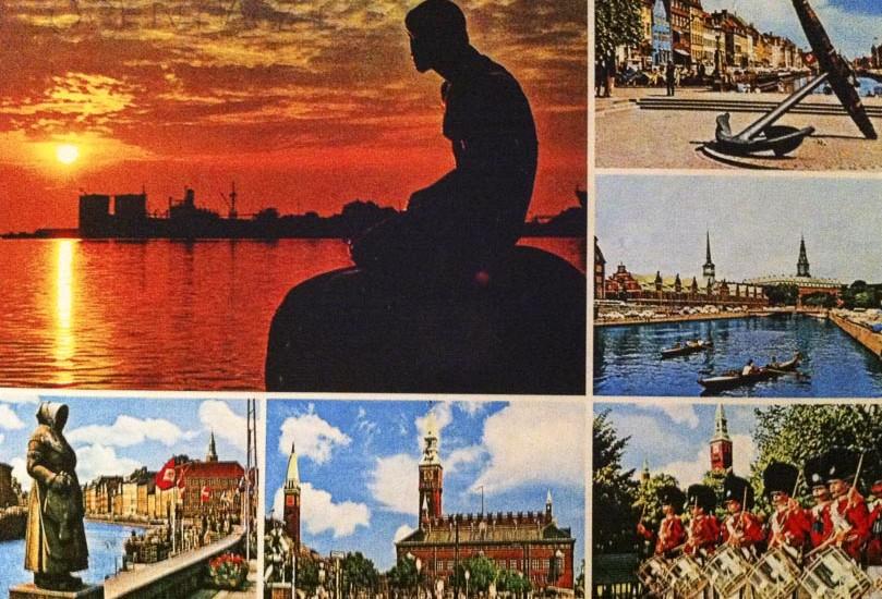 Postcard Copenhaga