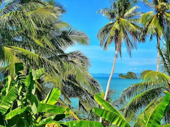 Foto insula tropicala