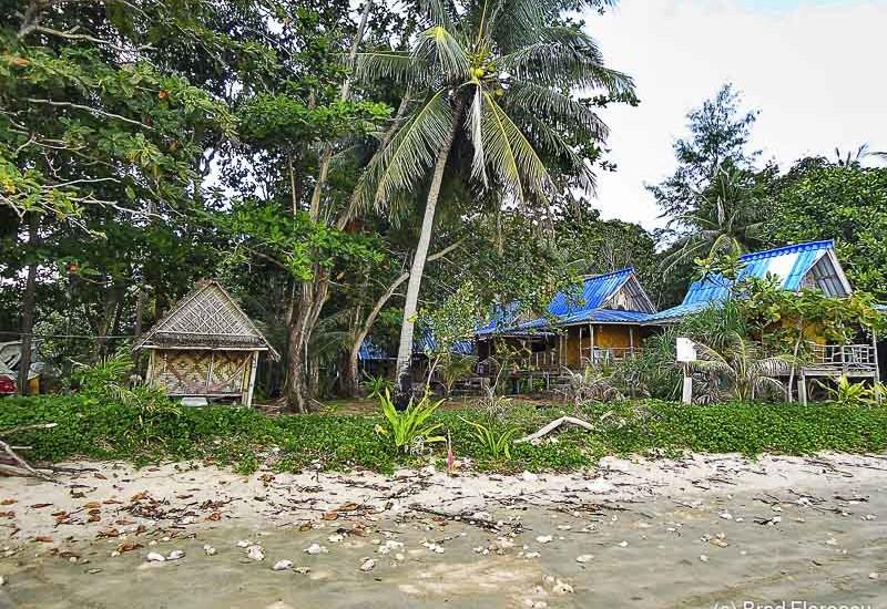 Bungalow-urile de la Bo Daeng.