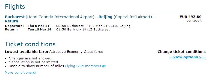 KLM Baijing 494