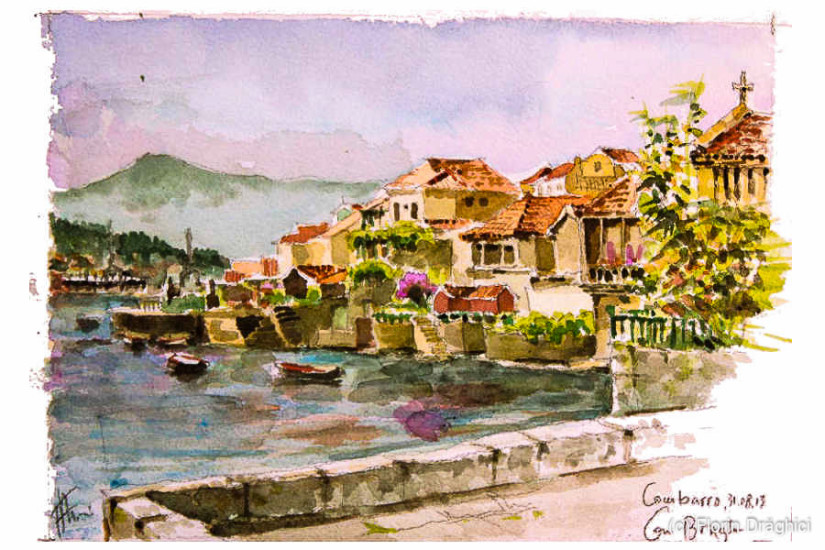 Spain Combarro village