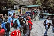 coadă acces Machu Picchu