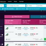 OTP-SCL 493 EUR Alitalia