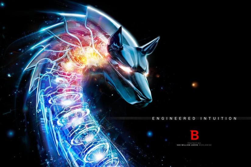 Bitdefender wolf