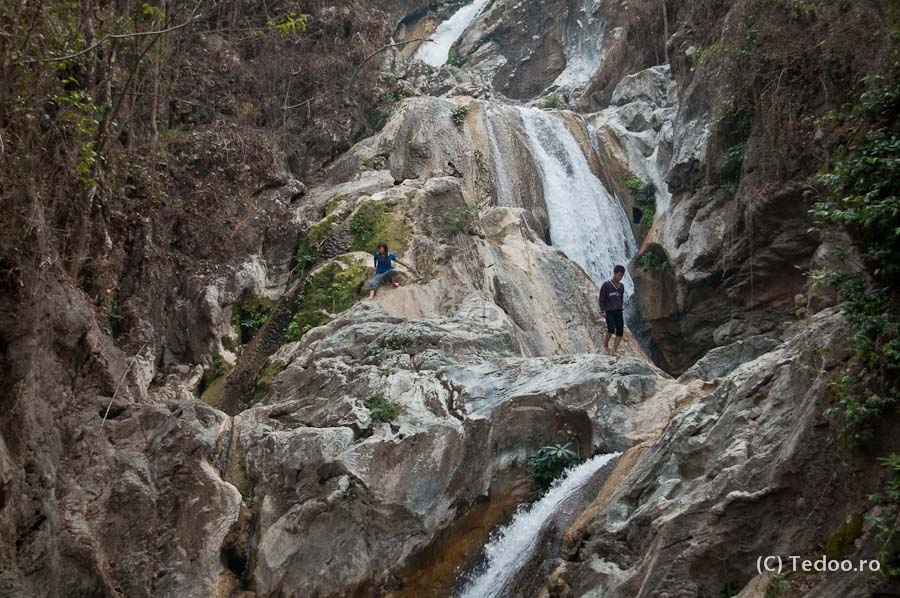 Cascada Lan Sang Thailanda