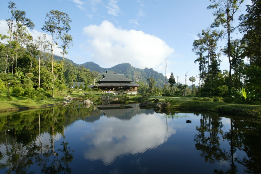 Borneo Hightlands Resort. Clubhouse
