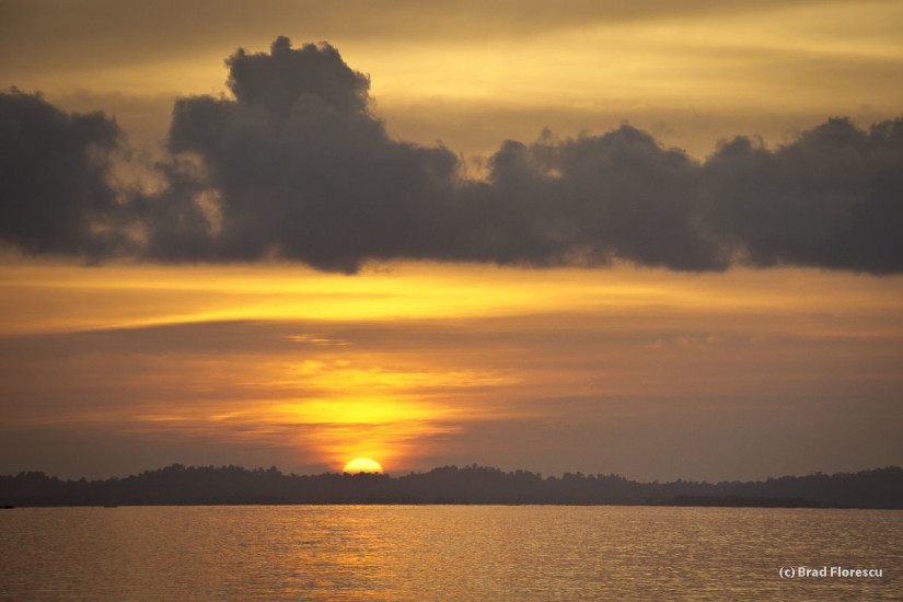 Sunset Indian Ocean Indonesia