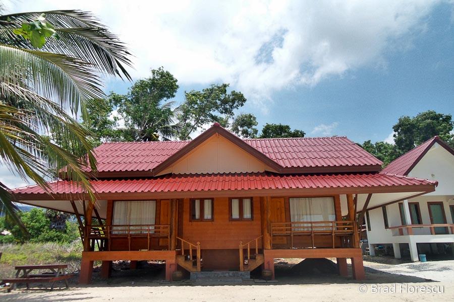 Phuphat Resort, bungalowul dublu de pe plajă.