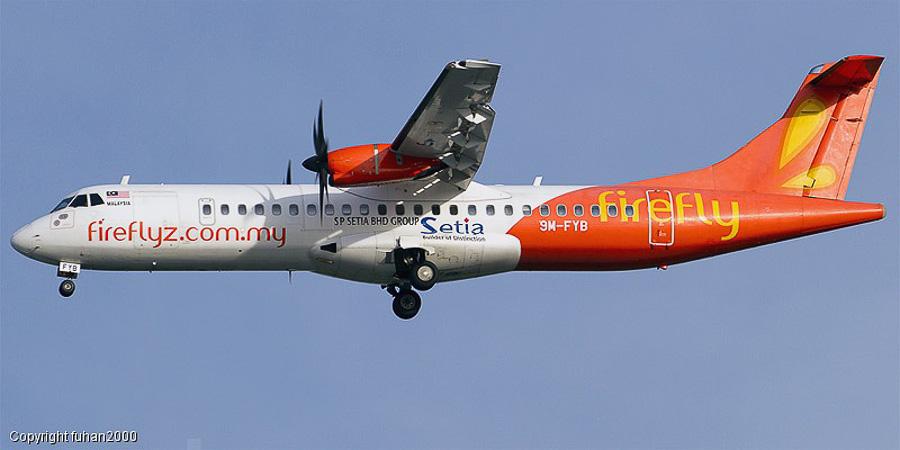 ATR 72 al companiei Firefly.